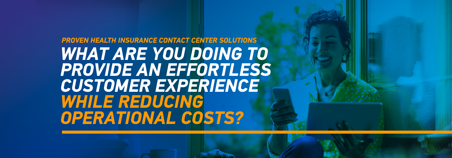 proven health insurance contact center solutions